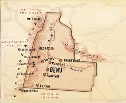 central oregon map