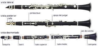notas de clarinete