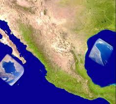 mexico satellite view