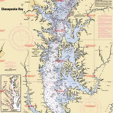 chesapeake bay chart