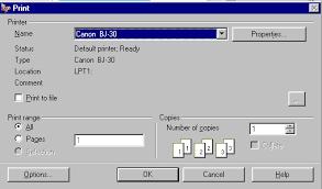 dialog window