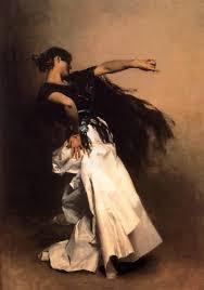 spanish dancer art