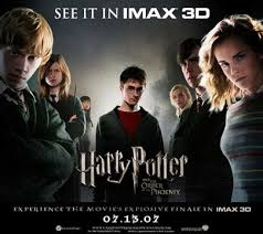 harry potter 5 movie poster