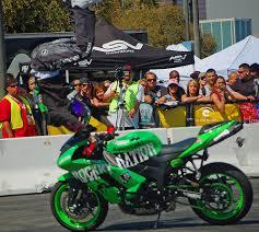 motorbike stunt show