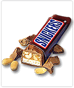 chocolate snickers