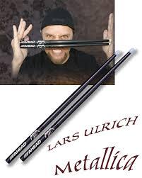 ahead lars ulrich drumsticks