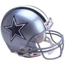 dallas cowboys football helmets