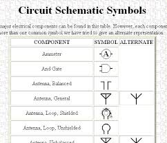 electrical schematic symbol