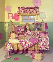 flower crib bedding