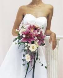 lily bridal bouquets