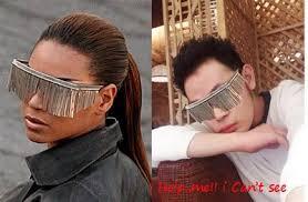 beyonce fringe glasses