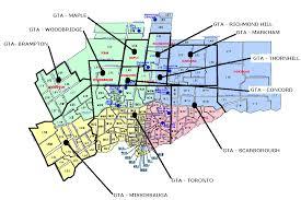 postal zones map