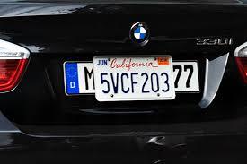 german licence plate