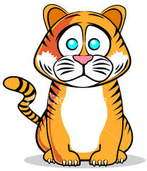 cartoon tiger cub