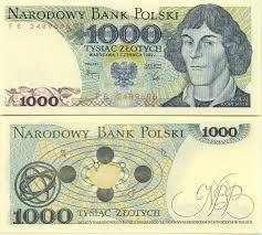 1000 zlotych