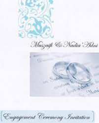 kad pertunangan