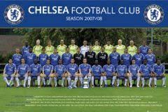 chelsea team poster