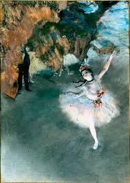 degas ballerina painting