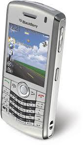 blackberry 8100 silver