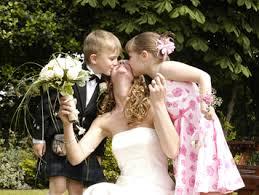 children wedding