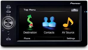 pioneer touch screen car audio