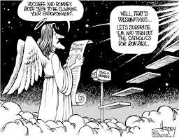 cartoon of god