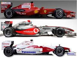 f1 cars for 2009