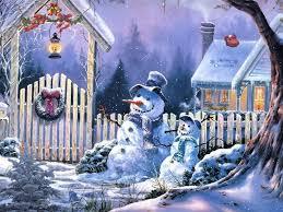 snowman desktops