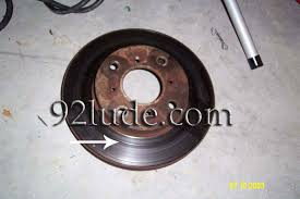 grooved rotors