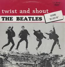 beatles twist and shout