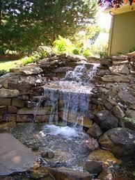 fountains waterfall