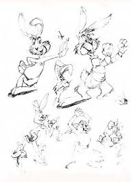 disney cartoon sketches