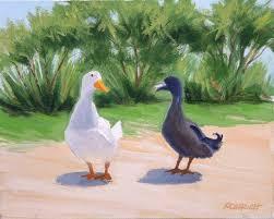 ducks paintings