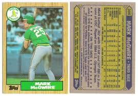 mark mcgwire card