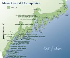 coast of maine map