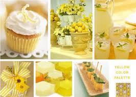 lemon centerpieces