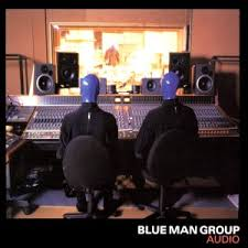 audio blue man group
