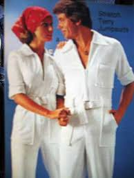 terry cloth jumpsuits