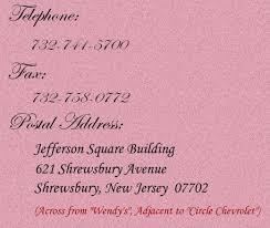 fax address