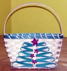 decorated basket