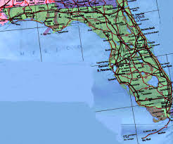 road maps of florida