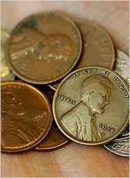 1908 penny