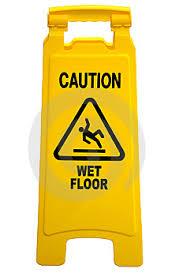caution wet floor signs