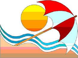 clip art of beach
