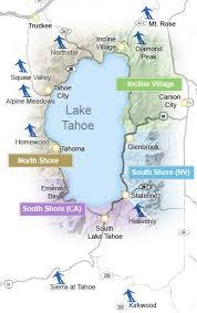 lake tahoe resort map