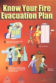 fire evacuation procedure