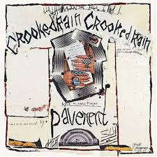 pavement crooked rain