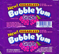 grape gum