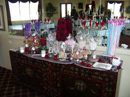 candy station for wedding