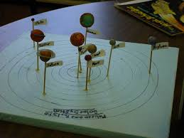 model of a solar system